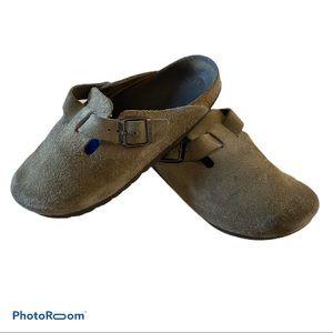 Birkenstock clog mules